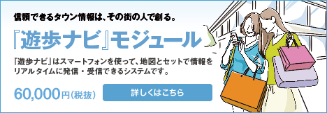 「遊歩ナビ」モジュール